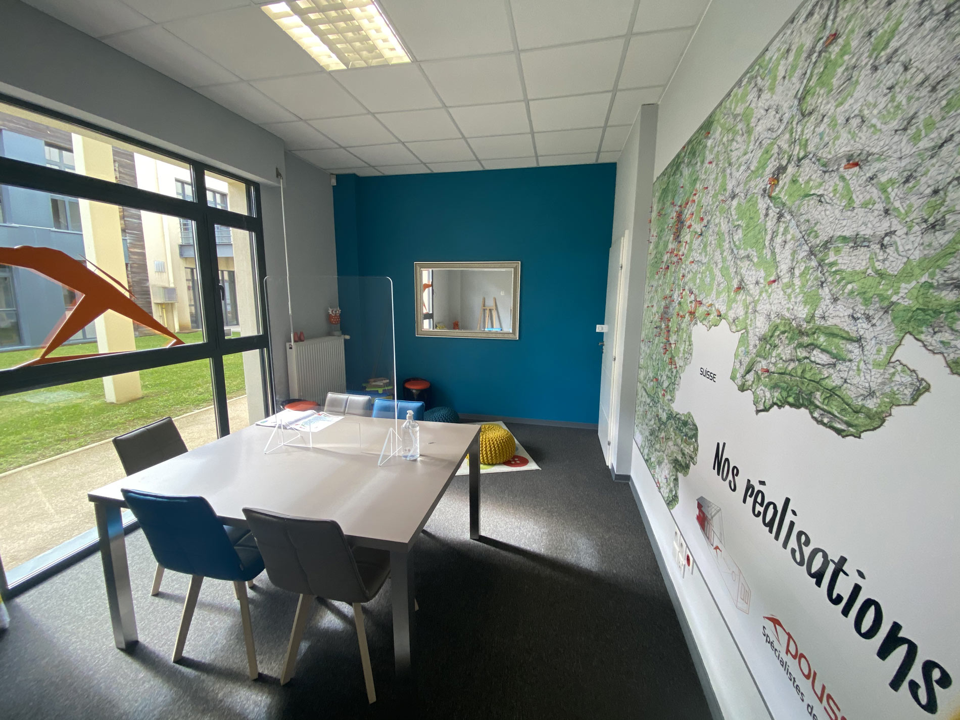 bureau agence Belfort Poussmurs Extension Agrandissement maison